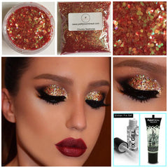 Chunky Bulk party glitter bags pots stargazer Fix Gel makeup beauty lovers