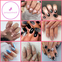 Fine glitter for nails nail glitter star glitter nail salons salon makeup crafts trends 2018 fun love sophisticated home made