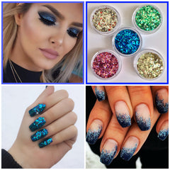 Fun glitter range bright neon biodegradable Mother's day st Patrick's USA Canada uk British Makeup beauty model blogger nail artist beautician hairdresser