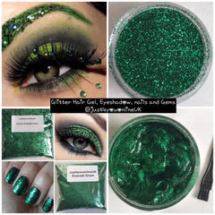 Cosmetic glitter bulk glitter eyes discounts bargain sale st Patrick's green thirsty Thursday hair nails eyebrows lashes motd craft gorgeous model salon supplies usa uk