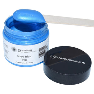 Epoxy Resin Pigment Paste Maya Blue Tint for Art