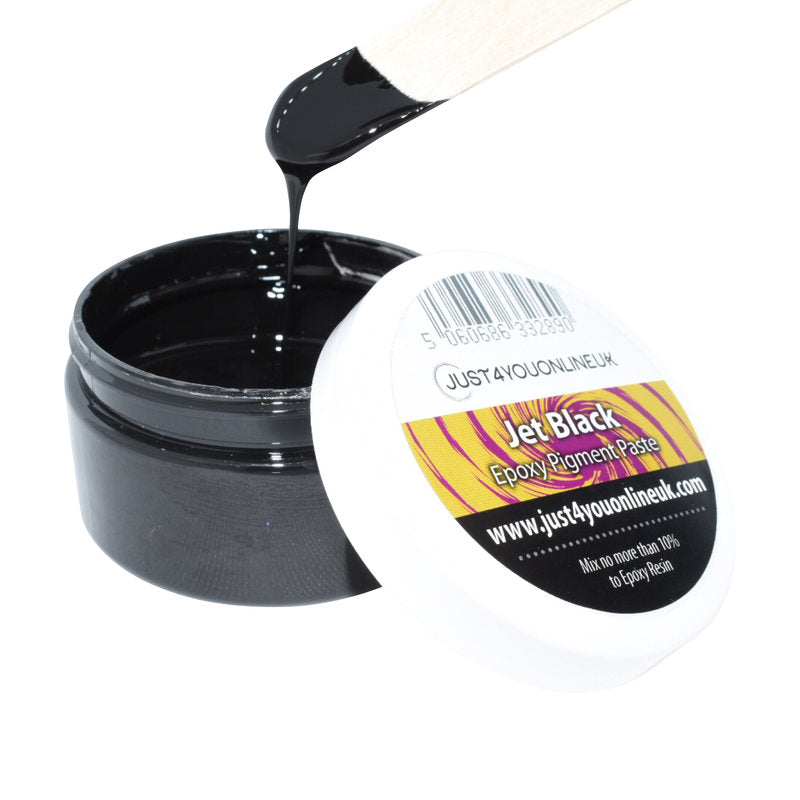 Epoxy Resin Pigment Paste Jet Black Tint for Art