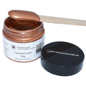 Resin Pigment Paste Caramel Gold Epoxy Resin Colour