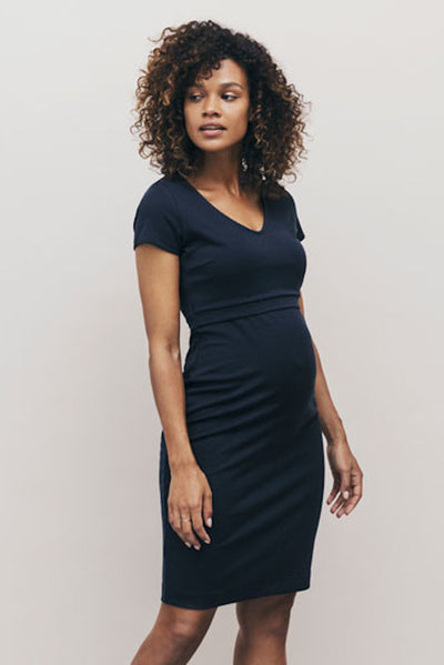 Boob LBD Dress - Midnight Blue