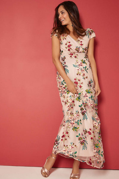 Tiffany Rose Bailey Gown - Blushing Blooms