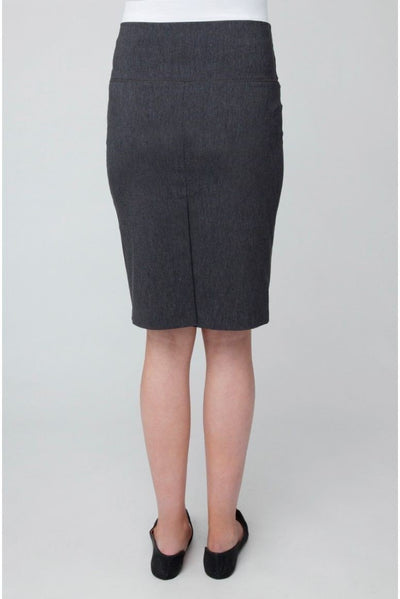 Ripe Maternity Suzie Pencil Skirt - Charcoal Marle