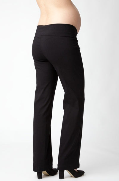 Ripe Maternity Phoenix Fold Over Pant - Black