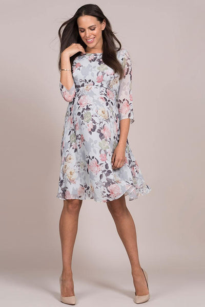 Seraphine Rose Woven Maternity Dress - Floral