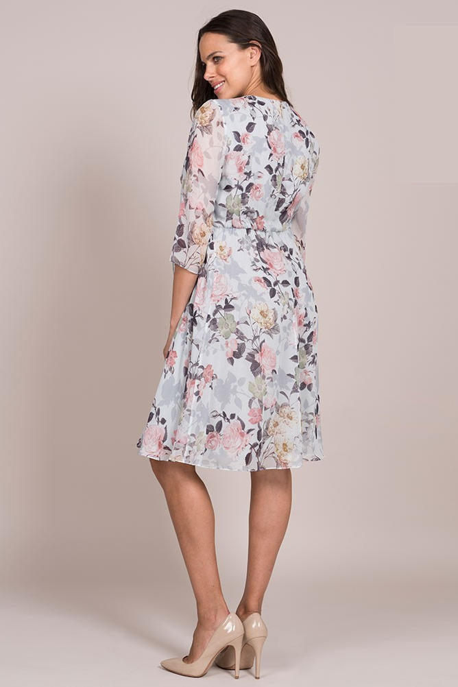 e69bb82ed06 Seraphine Rose Woven Maternity Dress - Floral - Pregoli