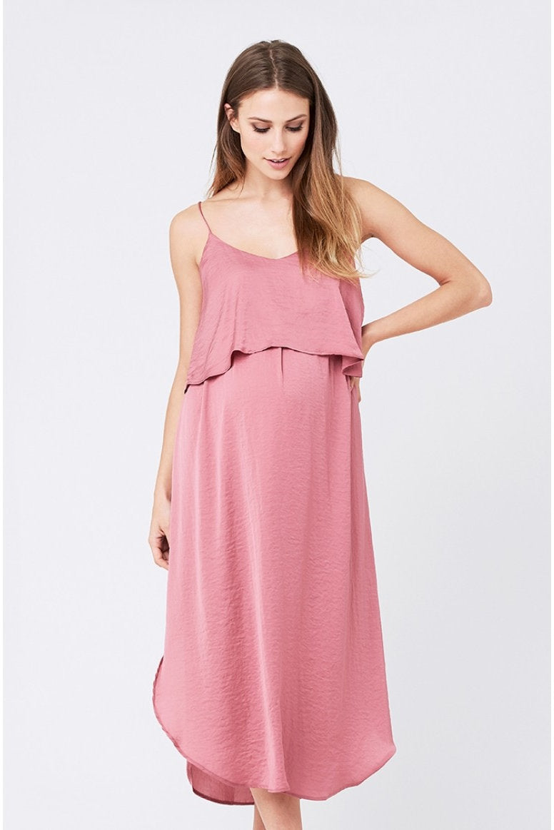 f877a5e44a Ripe Maternity Nursing Slip Dress - Rose - Pregoli