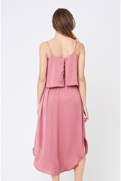 Ripe Maternity Nursing Slip Dress - Rose