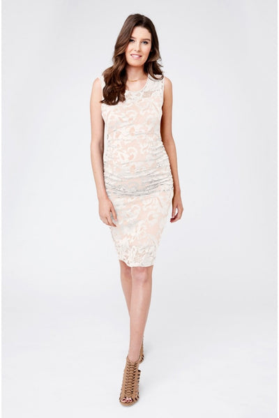 Ripe Maternity Eden Lace Dress - White