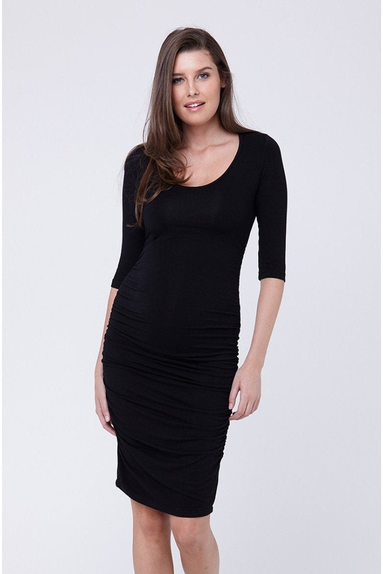 74f07b0fd2f Ripe Maternity Cocoon Dress - Black