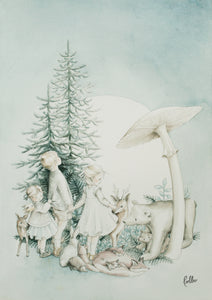 Poster Forest Fairytale - 3 Pack