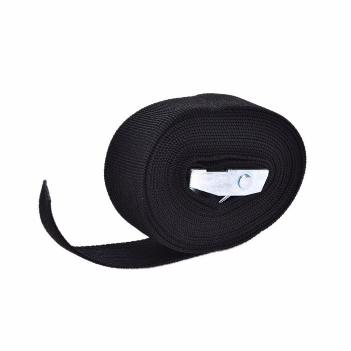 1-4 M Width Nylon Pack Cam Tie Down Strap Lash Luggage Bag Belt Metal Buckle-711 SportMarket-1m-Bargain Bait Box