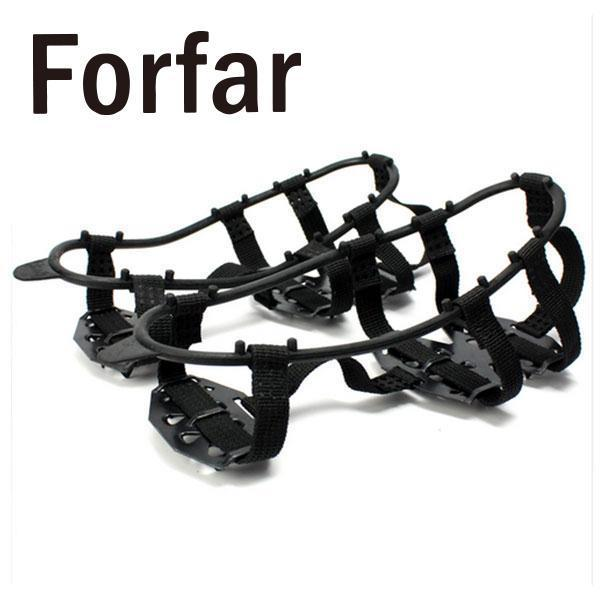 1 Pair Non-Slip Gripper Walking Cleat Snow Ice Shoes Spikes Boots Climbing-Online Gym Store-M-Bargain Bait Box