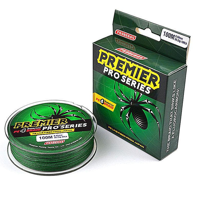 1 Pcs 100M 4 Stands Fishing Line 0.12Mm-0.6Mm Ocean Super Strong Carp Multi-WDAIREN KANNI Store-A-0.4-Bargain Bait Box