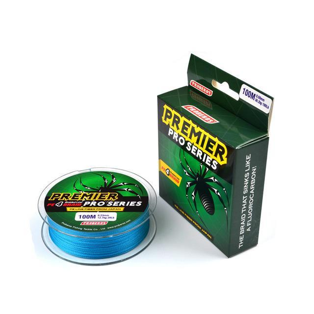 1 Pcs 100M 4 Stands Fishing Line 0.12Mm-0.6Mm Ocean Super Strong Carp Multi-WDAIREN KANNI Store-E-0.4-Bargain Bait Box