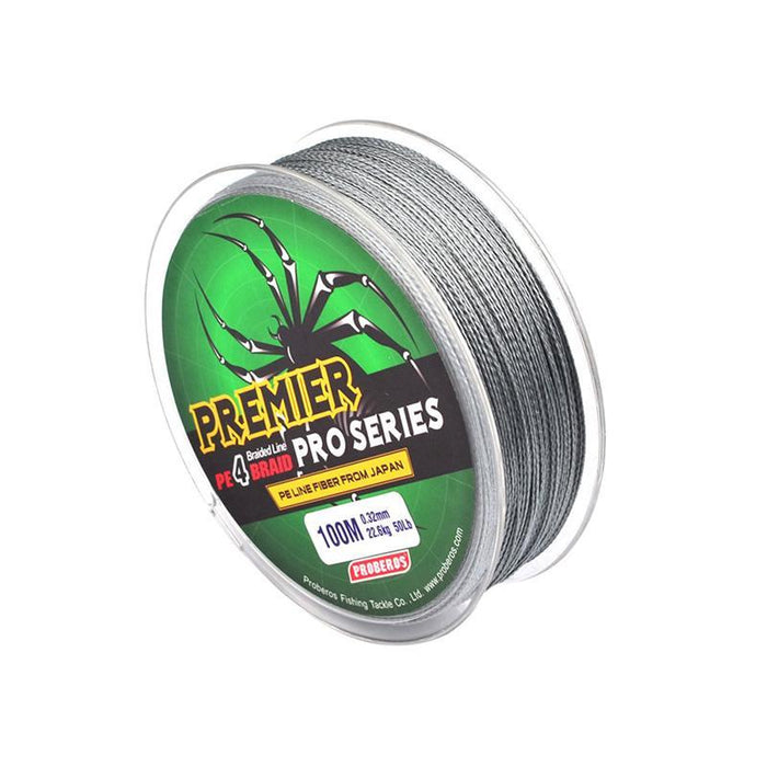 1 Pcs 100M Fishing Line Braided Fishing Line Available 10Lb-80Lb Pe Line Green-Fun Sunday Shop-Yellow-0.8-Bargain Bait Box