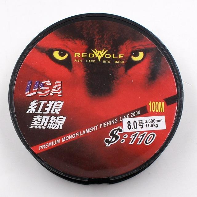 1 Pcs 100M Fishing Line Wearable Fiber Fishing Line Fluorocarbon Japanese-Almighty Fishing Gear Store-0.4-Bargain Bait Box