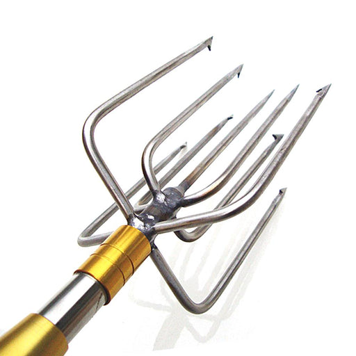 1 Piece Stainless Steel 9 Prongs 8Mm Thread Fishing Spear Head Musky Eel-Spearfishing-Bargain Bait Box-Bargain Bait Box