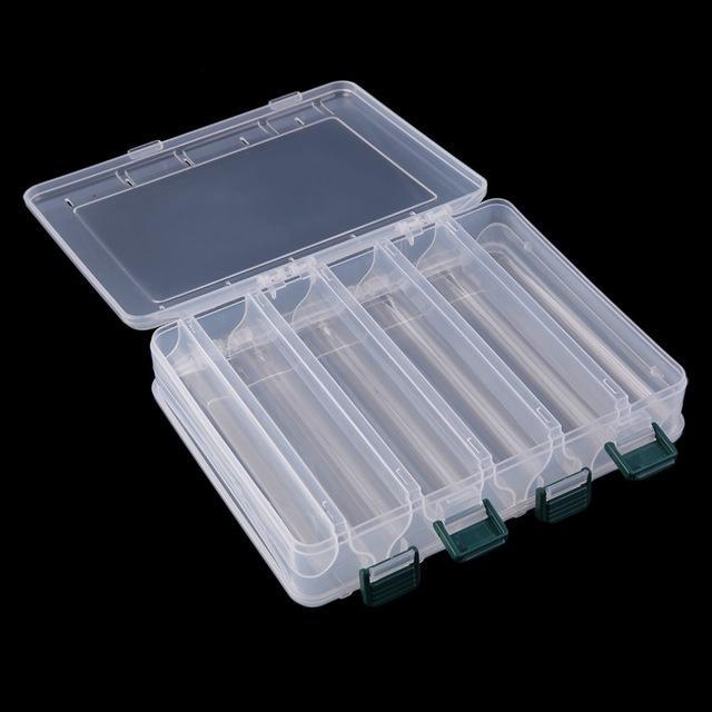 10 Compartments 14 Compartments Double Sided Bait Hooks Tackle Waterproof-Compartment Boxes-Bargain Bait Box-10 Compartments-China-Bargain Bait Box