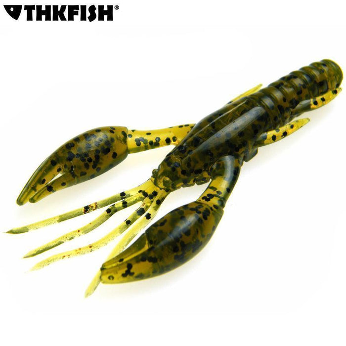 10 Pcs/Lot 7.5Cm 2.8In 7G Fishing Soft Baits Lobster Lifelike Crayfish Shrimps-Craws-Bargain Bait Box-Bargain Bait Box