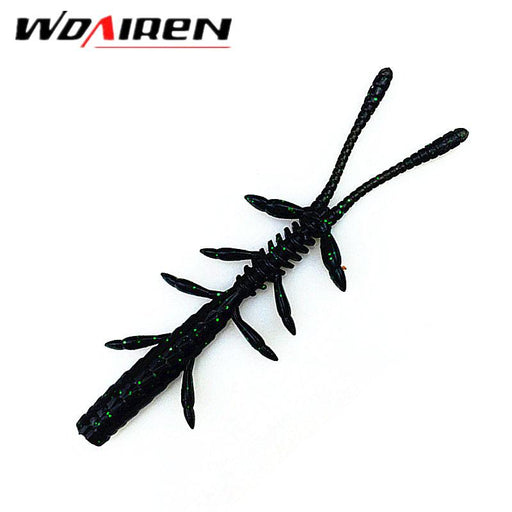 10 Pcs/Lot 8.5Cm 2.1G Soft Silicone Soft Soft With Salt Smell Swim Worm Yr-421-Creatures-Bargain Bait Box-A-Bargain Bait Box