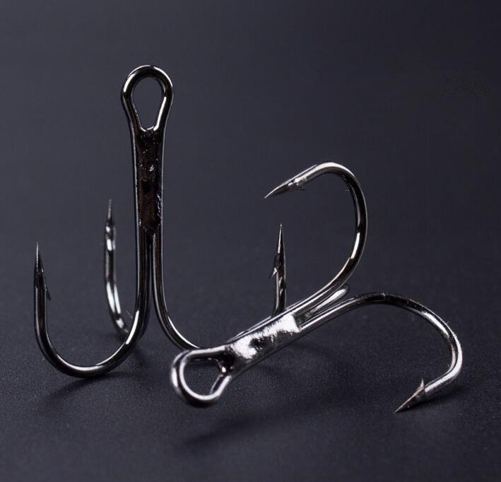 10 Piece/Lot Super Strong High Carbon Steel Triple Fishing Hook Treble Hooks-See You Outdoors Store-2-Bargain Bait Box