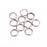 100 Pcs Heavy Duty Stainless Steel Split Rings For Blank Lures Crank Bait Hard-Splendidness-0i5 x 5mm-Bargain Bait Box