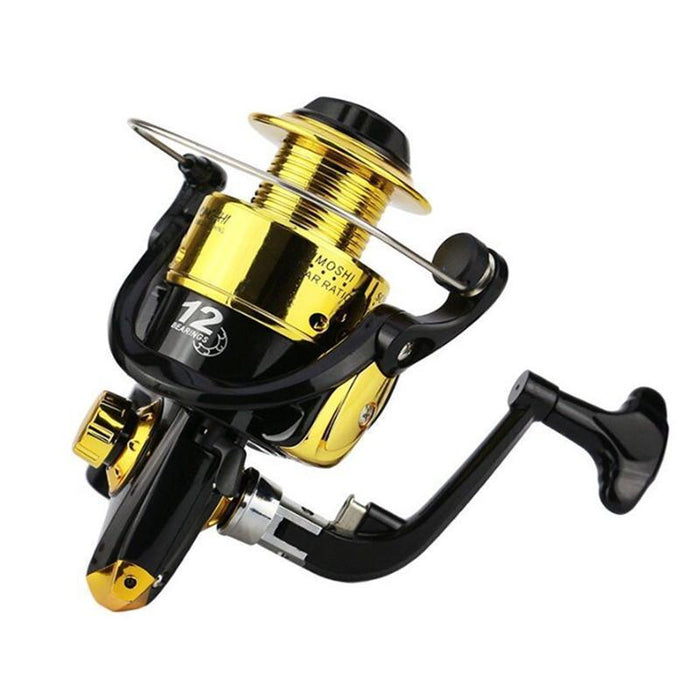 1000-7000 Series Spinning Fishing Reels 12Bb Tackle Gear 5.1:1 Carp Fiahing Reel-Spinning Reels-ArrowShark fishing gear shop Store-2Colour-1000 Series-Bargain Bait Box