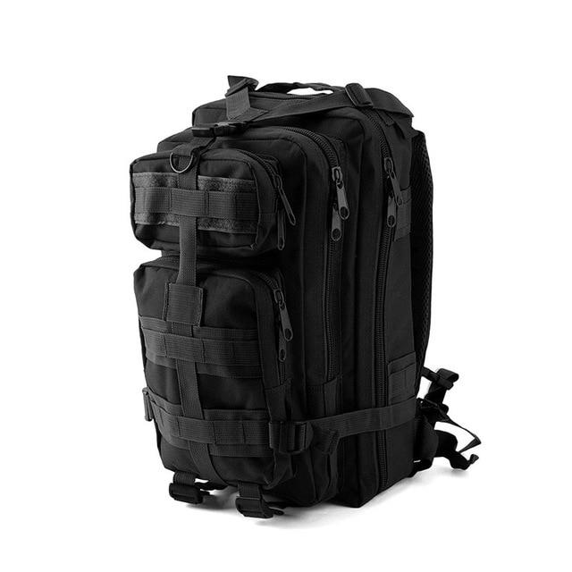 1000D Nylon Tactical Military Backpack Waterproof Army Bag Outdoor Sports-Climbing Bags-Lu Fitness Store-black-30 - 40L-China-Bargain Bait Box
