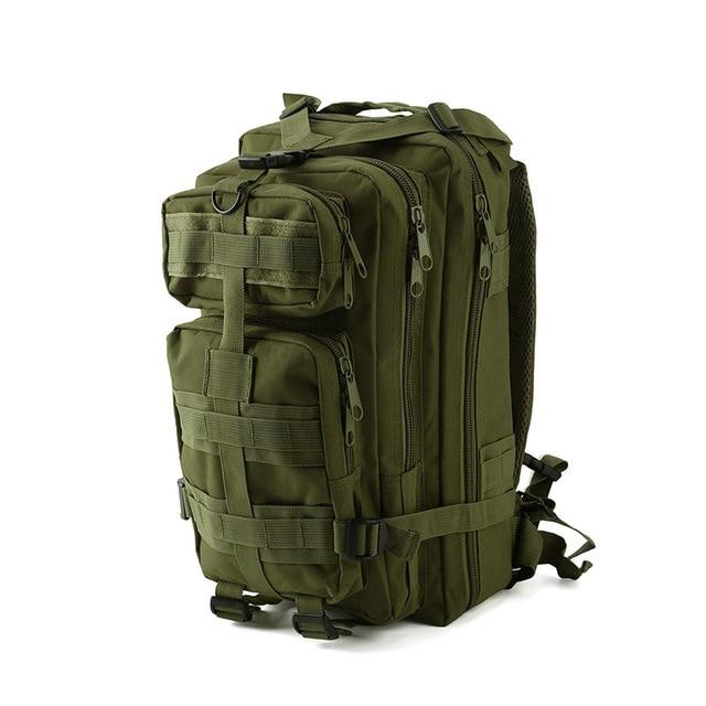 1000D Nylon Tactical Military Backpack Waterproof Army Bag Outdoor Sports-Climbing Bags-Lu Fitness Store-green-30 - 40L-China-Bargain Bait Box