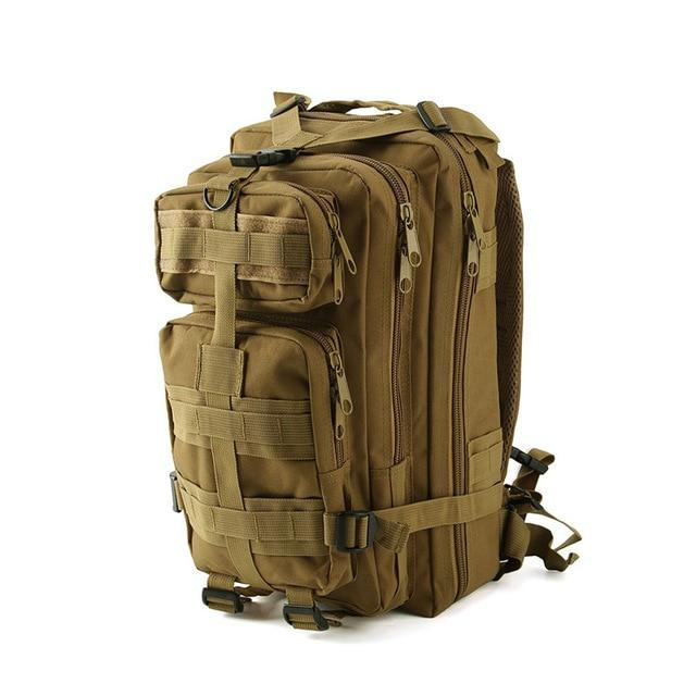 1000D Nylon Tactical Military Backpack Waterproof Army Bag Outdoor Sports-Climbing Bags-Lu Fitness Store-tan-30 - 40L-China-Bargain Bait Box