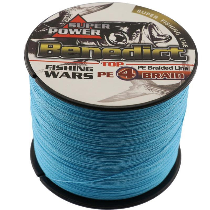 1000M Bigger Axle Of Pe Supper Braided Sea Fishing Line 50Lb-100Lb Strong-Asconfish Fishing Tackle-White-5.0-Bargain Bait Box