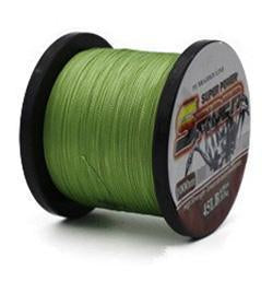 1000M Braided Fishing Line Super Power Pe Fiber Line 4 Strands Multifilament-Kookaburra Store-Army Green-0.6-Bargain Bait Box