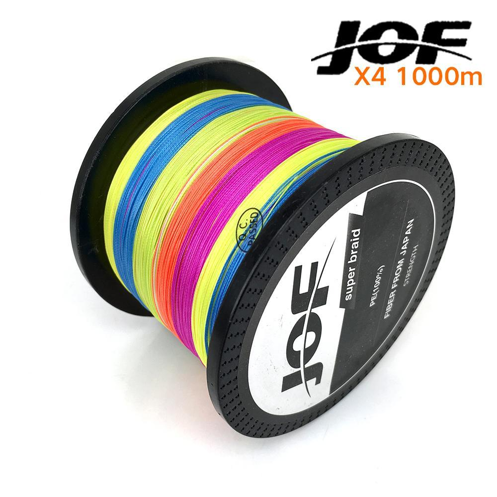 1000M Jof Brand Super Strong Japan Multifilament Pe Braided Fishing Line 20 30-HUDA Sky Outdoor Equipment Store-1.0-Bargain Bait Box