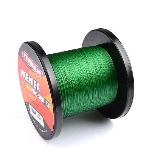 1000M Premier Series Strong Japan Multifilament Pe Braided Fishing Line 25 40 60-Quick Jeffrey Game Fishing Tackle-Green-2.0-Bargain Bait Box