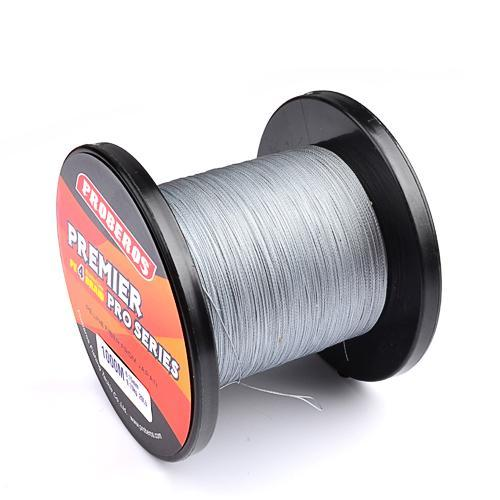 1000M Premier Series Strong Japan Multifilament Pe Braided Fishing Line 25 40 60-Quick Jeffrey Game Fishing Tackle-Light Grey-2.0-Bargain Bait Box