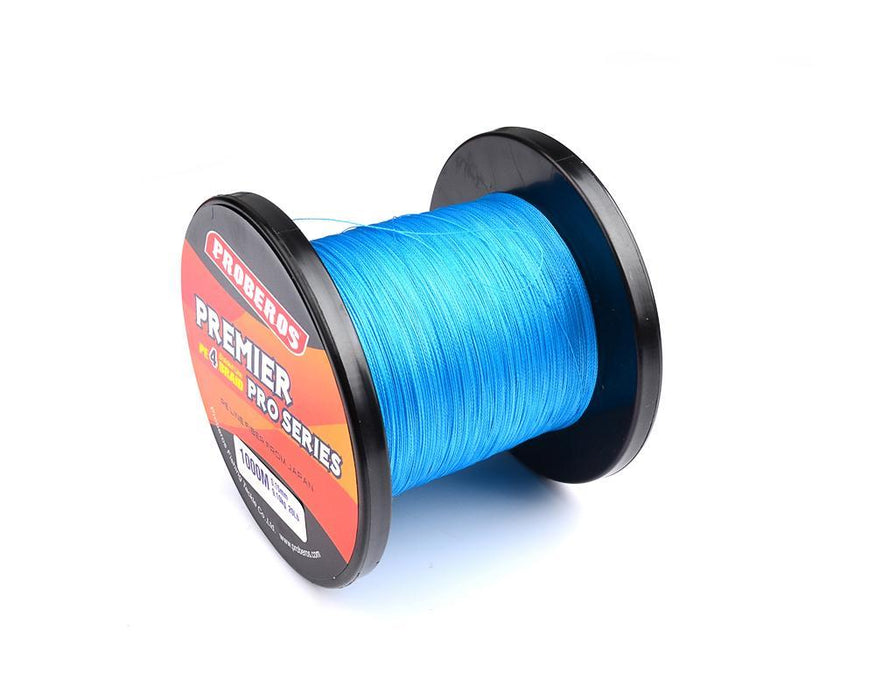 1000M Premier Series Strong Japan Multifilament Pe Braided Fishing Line 25 40 60-Quick Jeffrey Game Fishing Tackle-Yellow-2.0-Bargain Bait Box