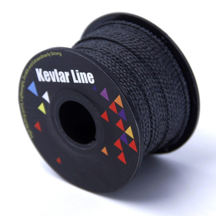 100Ft 500Lb Black Kevlar Line With Core Braided Fishing Line Super Strong-Goodmakings Outdoor Store-Bargain Bait Box