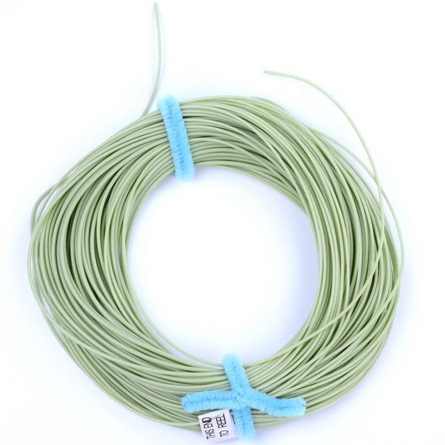 100Ft Weight Forward Floating Fly Fishing Lines Wf-2F/3F/4F/5F/6F/7F/8F 4 Colors-Fly Fishing Lines & Backing-Bargain Bait Box-Light Green-2.0-Mainline-Bargain Bait Box