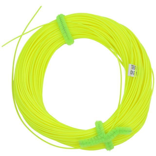 100Ft Weight Forward Floating Fly Fishing Lines Wf-2F/3F/4F/5F/6F/7F/8F 4 Colors-Fly Fishing Lines & Backing-Bargain Bait Box-Yellow-2.0-Mainline-Bargain Bait Box