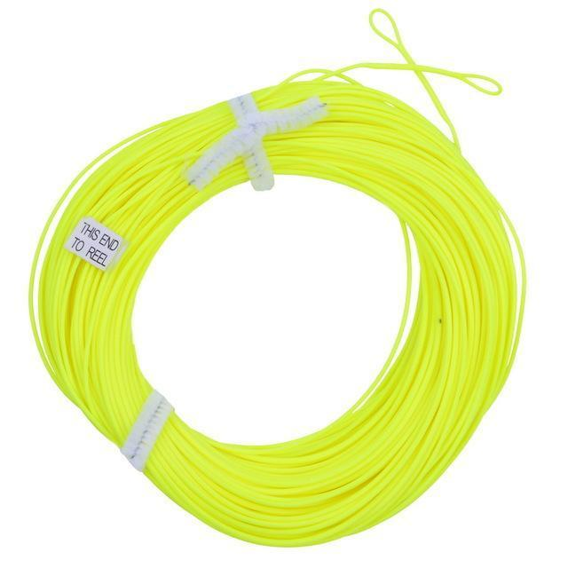 100Ft Weight Forward Floating Fly Line Material De 2 Welded Loops Line-Fly Fishing Lines & Backing-Bargain Bait Box-Yellow-2.0-Mainline-Bargain Bait Box