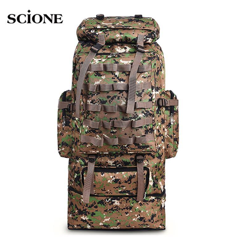 100L Military Backpack Molle Camping Bag Rucksack Tactical Backpack Men Large-Climbing Bags-Vanchic Outdoor Store-Jungle Digital 100L-Bargain Bait Box