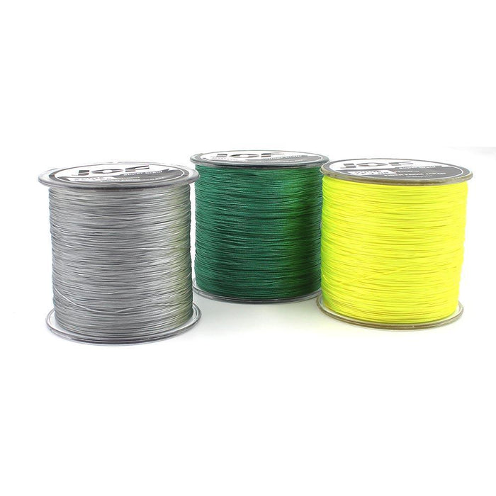 100M 8 Strands Pe Braided Fishing Line Super Strong Japan Multifilament-Enjoying Your Life Store-100m gray-2.0-Bargain Bait Box