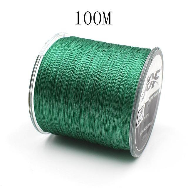 100M 8 Strands Pe Braided Fishing Line Super Strong Japan Multifilament-Enjoying Your Life Store-100m green-2.0-Bargain Bait Box