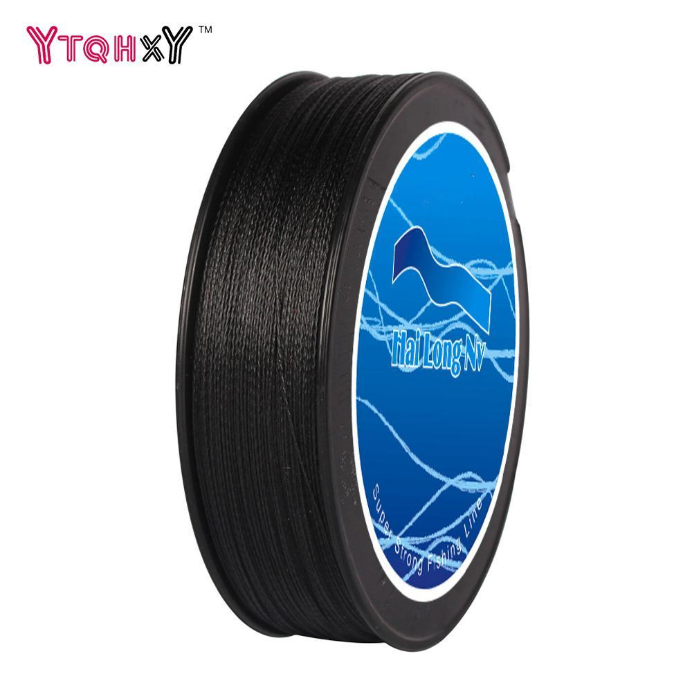 100M Brand Fishing Line Pe Braided Fishing Line 5 Colors 4 Strands Linha-Be a Invincible fishing Store-White-0.4-Bargain Bait Box