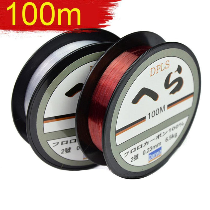 100M Fluorocarbon Fishing Lines Strong Nylon Multifilament Fishing Line-Enjoying Your Life Store-white-0.4-Bargain Bait Box