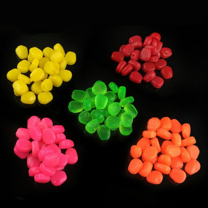 100Pcs Pop Up Corn Fishing Soft Baits 1Cm/0.33G Maize Grass Carp With Smell 5-Corn Baits-Bargain Bait Box-pink-Bargain Bait Box